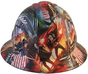 Trump Wwg1wga Unique Hydro Dipped Safety Full Brim Or Cap Style Hard Hats