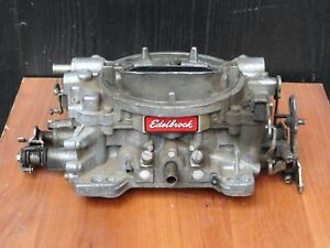 Edelbrock Performer Series 4 Barrel Carburetor 1405 1455 With Manual Choke Core