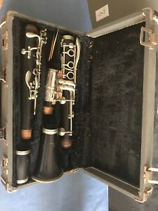clarinet With Case