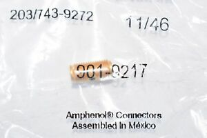 New Amphenol Rf 901 9217 Rf Adapters In Series Strt Jck To Jck Gld