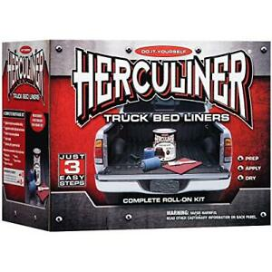 Herculiner Hcl1g8 Gray Brush On Bed Liner Kit