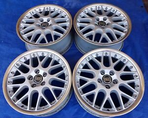 Volvo C70 S70 V70 Xc70 Oem Bbs Rs797 17x7 5 Polished Propus 2 piece Wheels Rims