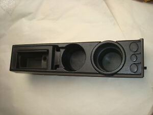 Bmw E36 318 125 Center Console Oem Cup Holder W Coin Holder Ash Tray Storage