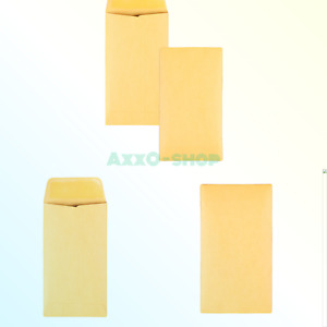 Quality Park Coin small Parts Envelopes 6 Brown Kraft 3 375 X 6 inches Bo