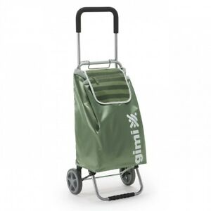 Shopping Trolley Heavy Duty Wheels Portable Cart Collapsible Lightweight Home