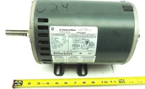 Ge 5k48mn4295bx Electric Motor 1725 Rpm 3 Ph 60hz 200 230 460vac 1 Hp