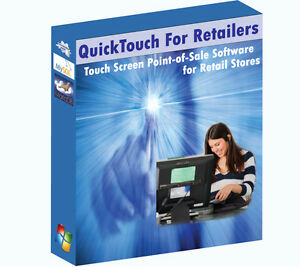 Retail Touch Screen Pos point Of Sale Software User Friendly easy To Learn