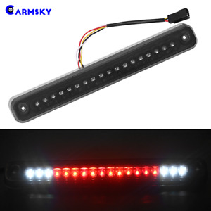 Smoke Lens For 1988 1998 Chevy Gmc C K1500 Silverado Led 3rd Brake Cargo Light