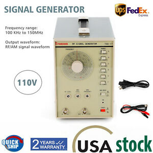 Signal Generator High Frequency Signal Generator Rf radio frequency Tsg17 110v