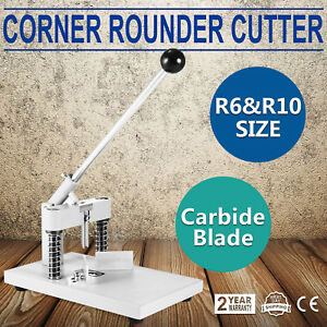 Usa Manual Corner Rounder Cutter R6 r10 Craft Trimmer Paper Cutter allen Wrench