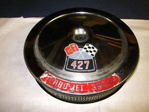 Used Original Gm 1969 Chevy Corvette Stingray 427 390hp Open Air Cleaner A212cw