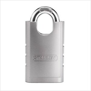 Commercial Grade Stanley Hardware Shrouded Hardened Steel Padlock Anti Pick Pins
