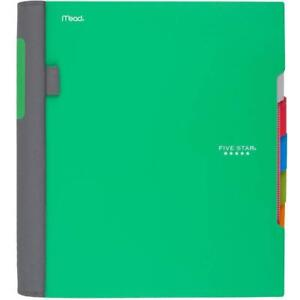 Five Star Advance Spiral Notebook 5 Subject College Ruled Paper 200