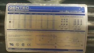 Rotary Phase Converter Ad20 20 Hp Heavy Duty Cnc Made In Usa