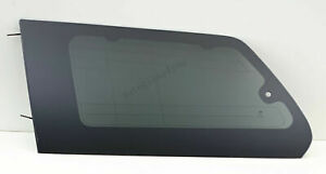 For 2011 2018 Toyota Sienna Quarter Window Glass Driver left Side Movable