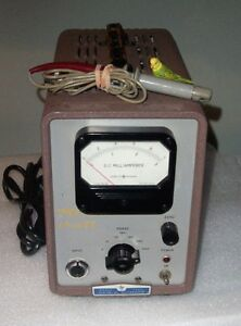 Hp 428a Clip on Milliammeter W Hp 428a 21a Probe W all Ranges Tested 0 1 Amp