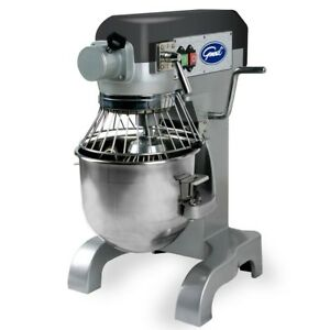 10 Qt Heavy Duty Commercial Industrial Stainless Stand Mixer Restaurant Bakery