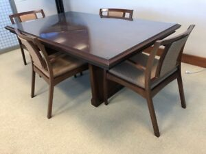 Conference Table Traditional Kimball Cherry Veneer Wood