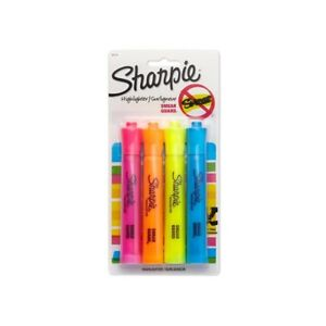 Lot Of 40 Packs Sharpie Accent Tank style Highlighters 4 Colored Highlighters 25