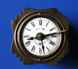 Old Kienzle Watch Travel Clock 19 Jahrhundert Century Pendulum Clockwork Drive
