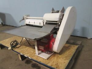 colborne B 10 Commercial H d Counter Top Dbl Pass Thru Dough Roller sheeter