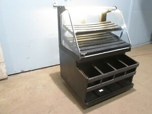 structural Concepts Commercial Lighted Dry Bakery Display Merchandising Case