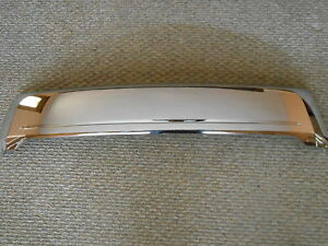 Chrome Lower Grille 2011 2012 Ford Edge
