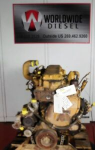 Cat 3116 Diesel Engine 250hp Good For Rebuild Only