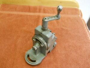 South Bend 9 10k Lathe Milling Attachment Nice Original