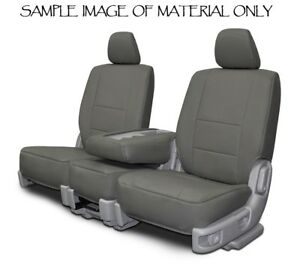 Custom Fit Front Seat Covers For 2011 2017 Honda Odyssey Charcoal Leatherette