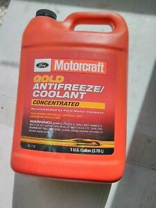 Ford Motorcraft Gold Antifreeze Coolant Concentrated Vc 7 b 1 Us Gallon