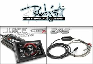 Edge Juice W Attitude Cts2 31500 Egt Probe For 98 5 00 Dodge 5 9 Cummins Diesel