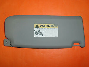 Volvo Illuminated Left Sun Visor S40 V50 2004 5 2005 2006 2007 30653660 30673255