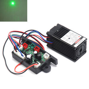100mw 532nm Green Laser Dot Module W fan Cooling Ttl 0 30khz Long Time Working