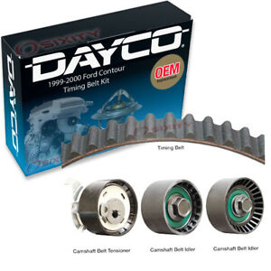Dayco Timing Belt Kit For 1999 2000 Ford Contour 2 0l L4 Engine Pulley Xu