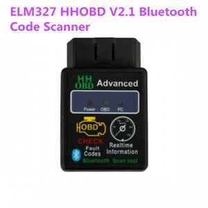 Elm327 V2 1 Hhobd Advanced Obd2 Bluetooth Car Obdii Code Scanner