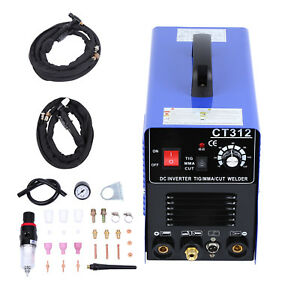 3in1 Cut tig mma Arc Air Plasma Cutter Welding Machine Ct312 Welder accessories