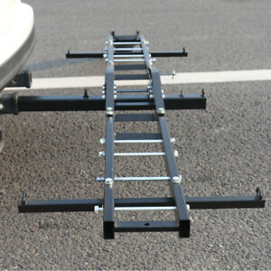 Hitch Mount Cargo Carrier 500 Lb Capacity Fits 2 Receiver Car Suv Pickups