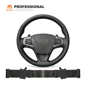 Top Genuine Soft Leather Steering Wheel Cover For Toyota Camry 2015 2017 Avalon