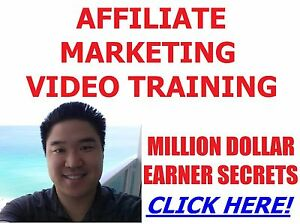 A Million Dollar Earner s Secrets Internet Marketing affiliate Marketing Course