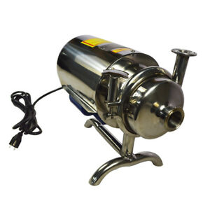 3t h Centrifugal Pump Sanitary 304 Stainless Steel Beverage Water Transfer Tool