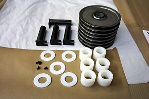 Rotary Lift S100036 4 Post Runway Sheave Kit For Model Smo123 Aro123 Lifts