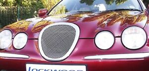 Jaguar S Type Grille Stainless Steel Woven Grill Mesh Insert 1999 2002
