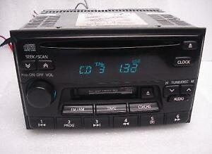 1995 96 97 98 99 2000 2001 Nissan Altima Maxima Sentra Radio And Cd Player