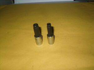 Snap On 2 Pc 1 4 Drive Trim Nut Driver Sockets S9614 5 16 S6103 3 8 Palnut