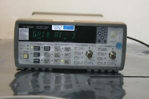 Hp Agilent 53131a 225 Mhz Universal Frequency Counter timer