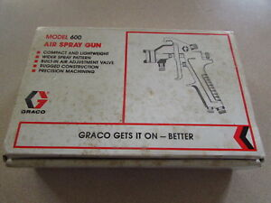 New Old Stock Vintage Graco Model 600 Spray Gun With 106 604 Tip
