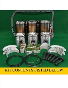 Ford 201 Turbo Diesel 3 3l Major Overhaul Engine Rebuild Kit