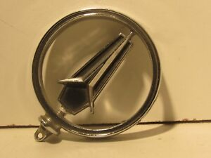 Vintage Plymouth Hood Ornament Emblem Trim Decal Metal Chrome
