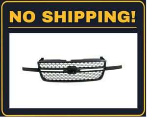 New Front Grille Fit Chevrolet Silverado 2500hd 2003 2007 Gm1200586